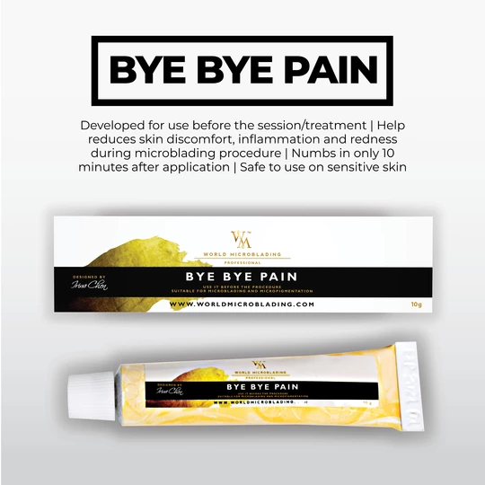 Microblading  pain reliever - bye bye pain