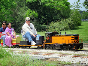 Photo: Rich Businger (engineer) at Sumrall     HALS Public Run Day 2015-0516 RPW