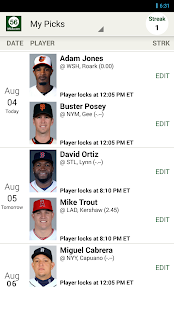 MLB.com Beat the Streak- screenshot thumbnail