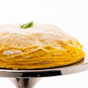 "Mango Mille-Crêpe Cake (9.5"" Whole Cake)"