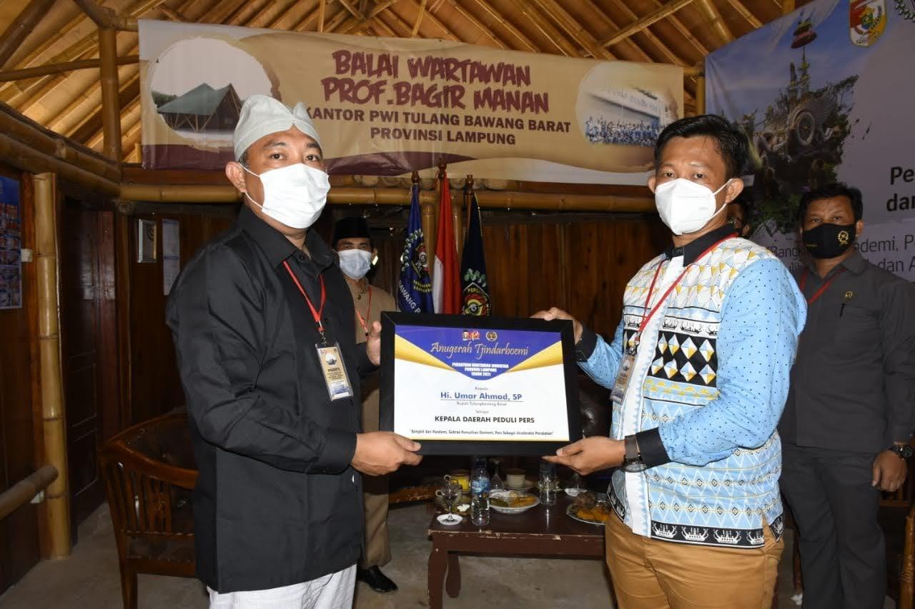 Peringatan Hari Pers Nasional (HPN) 2021 di PWI Tubaba
