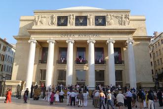 Photo: Opéra MARSEILLE. Front. Foto: Dr. Klaus Billand