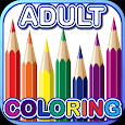 Free Coloring Book Colorpeutic icon