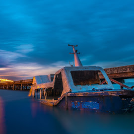 Abandoned Boat by Lim Keng - Buildings & Architecture Decaying & Abandoned