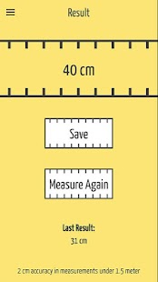 SizeUp – a Smart Tape Measure Screenshot