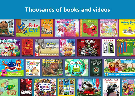 Amazon FreeTime Unlimited: Kids Shows, Games, More 2.0.0.203376 screenshots 1