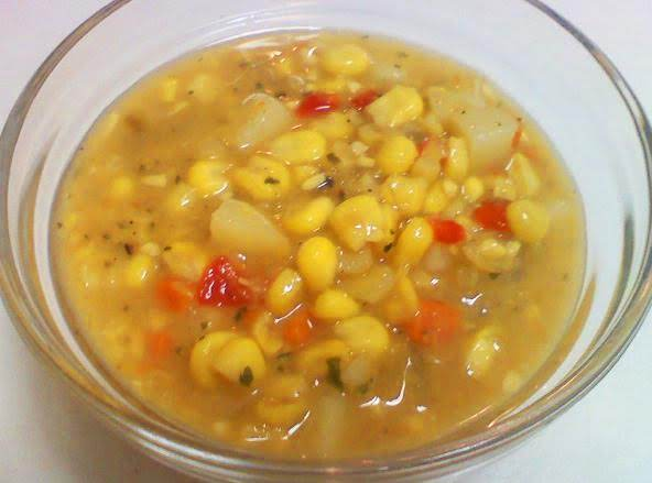 Green Chile Corn Chowder Recipe
