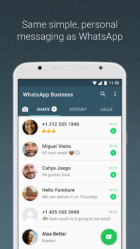 WhatsApp Business 2.18.94 screenshots 4