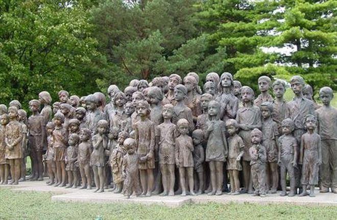 Меморіал містечка Лідіце