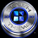 Next Launcher Theme Zenith 3D icon