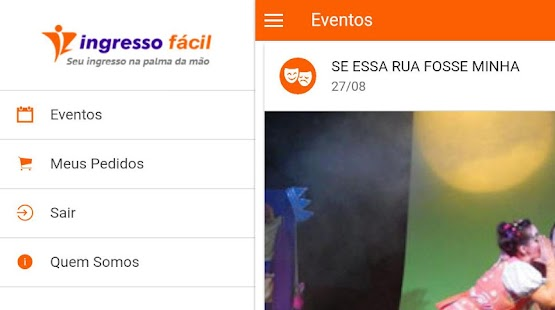 Ingresso Fácil- screenshot thumbnail