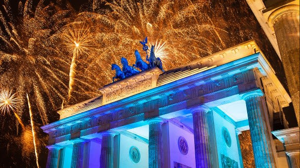 Réveillon em Berlim, Alemanha