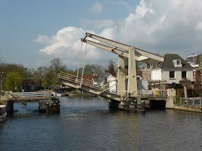 Photo: 16 maart 2016 CReO Loosdrecht Zuylen, over de Vecht, brug bij Nieuwersluis
