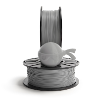 NinjaTek Chinchilla Steel Gray TPE Filament - 1.75mm (1kg)