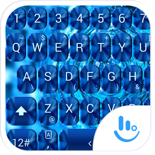 键盘主题 BlueShade 個人化 LOGO-玩APPs