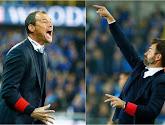 Rivaux ? Les coachs du Cercle et du Club de Bruges se complimentent, Guyot fait rire la salle de presse