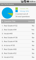 Screenshot of Arizona Real Estate Exam Prep