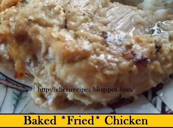 Baked *fried* Chicken Recipe