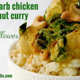 Low Carb Chicken Coconut Curry Recipe