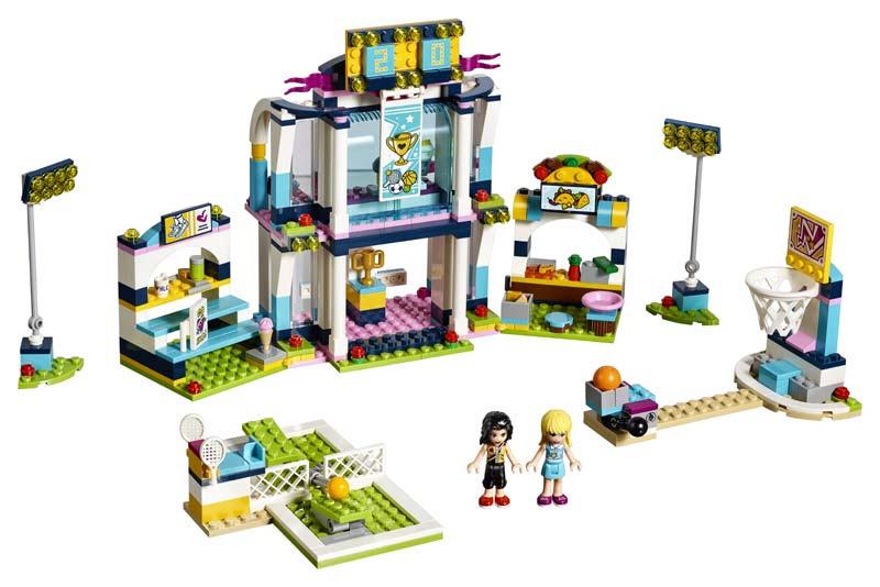 Contenido de Lego® 41338 Polideportivo de Stephanie