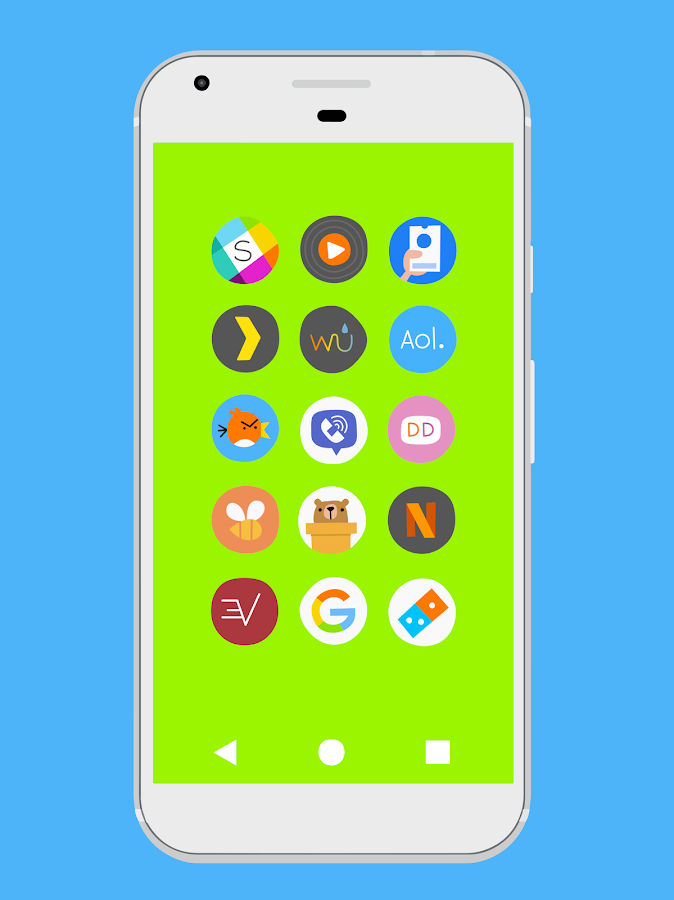 Blorbs - Icon Pack- screenshot