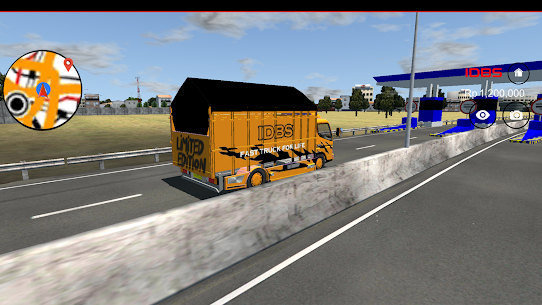 IDBS Indonesia Truck Simulator 4