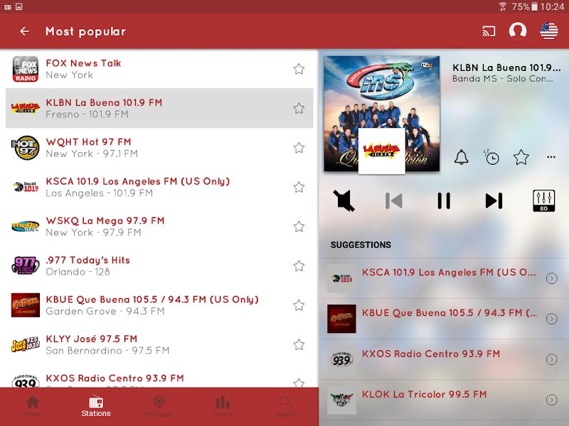 myTuner Radio App: FM Radio + Internet Radio Tuner Screenshot 10