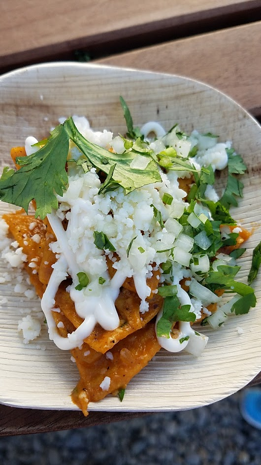Feast PDX 2016 Night Market offering by Kelly Myers from Xico (Portland, OR): Totopos