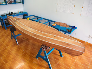 Photo: hull glueing is finished...