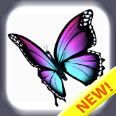 Butterfly Color By Number : Bugs Coloring Book Android APK Download Free By Brain Training Studio