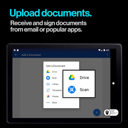 DocuSign - Upload & Sign Docs screenshots 8