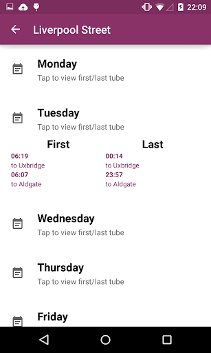 London Tube Live Pro screenshot 5