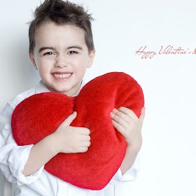 Happy Valentines Day by Inna Fangel - People Family ( love, heart, red, valentines day, valentine )