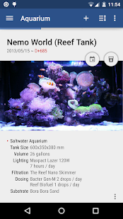 Aquarium Note Screenshot