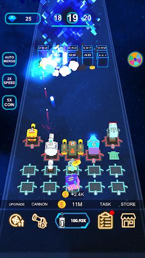 Cannon Defense-SciFi Idle apkmr screenshots 8
