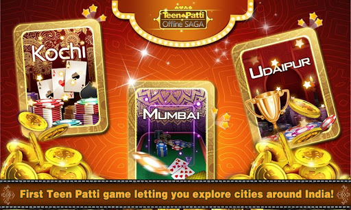 Teen Patti Offlineu2663Klub-The only 3patti with story 2.8.6 screenshots 9