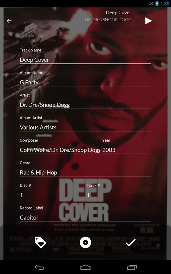 Soundifya Music Player- screenshot