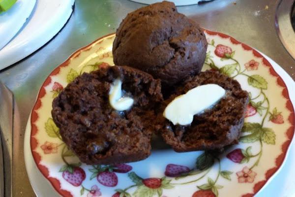 Double Chocolate Banana Muffins Recipe