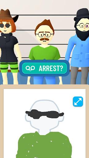 Line Up: Draw the Criminal apktram screenshots 4