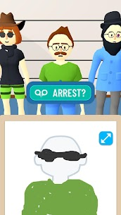 Line Up Draw the Criminal Mod APK 1.1.4 (No Ads) for Android 4
