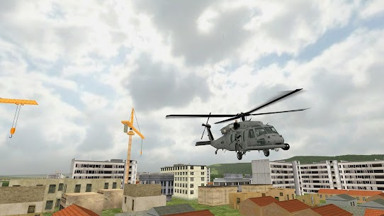 Helicopter Sim Flight Simulator Air Cavalry Pilot  Apk Download For Android and Iphone 5