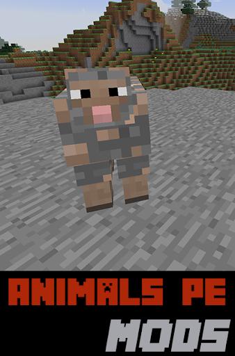 Animals PE Mods For MC
