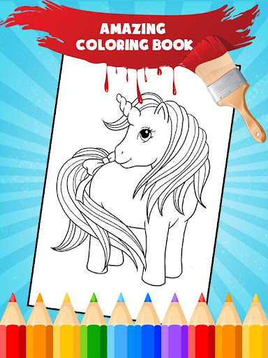Unicorn Coloring Book: Kids Coloring Pages 3.0.1 screenshots 1
