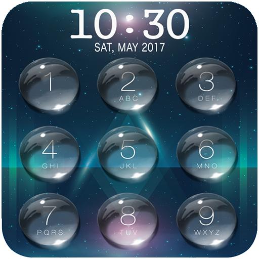 Lock Screen - Water Droplet