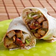 BBQ Hot Chicken Wrap