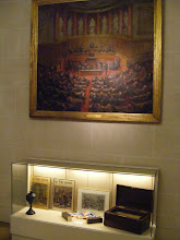 Photo: The other collection consist of a variety of objects centered on the history of the Senate.