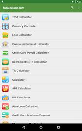 Financial Calculators Screenshot 17