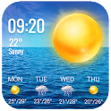 Temperature&weather app . icon