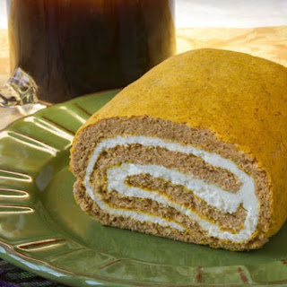 Parke County Pumpkin-Cream Cheese Roll