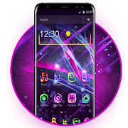 Neon Light Launcher by Fun Launcher icon